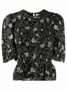 Isabel Marant Étoile Enette printed blouse - Black