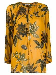 Dorothee Schumacher flower print blouse - Yellow