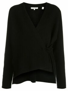 Vince wrap V-neck cardigan - Black