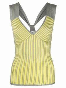 M Missoni Riga knitted top - Yellow