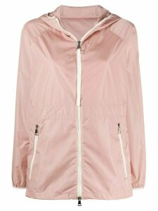 Moncler lightweight hooded jacket - PINK