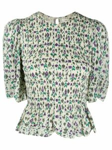 Isabel Marant Étoile Enette printed blouse - White