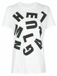 Helmut Lang logo print T-shirt - White