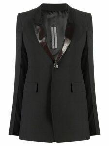 Rick Owens longline tailored blazer - Brown