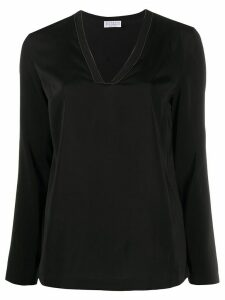 Brunello Cucinelli tunic top - Black