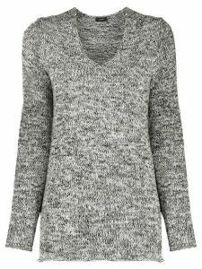 Joseph textured knit jumper - Black