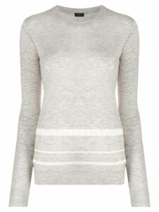 Joseph fine knit top - Grey