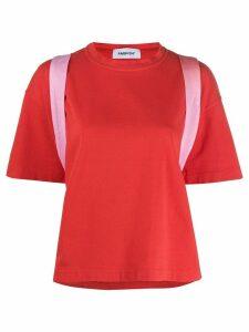 AMBUSH shoulder strap T-shirt - Red