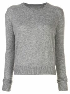 The Elder Statesman crew neck jumper - Grey