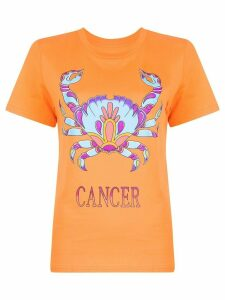 Alberta Ferretti Cancer T-shirt - ORANGE