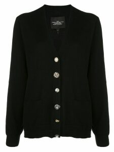 Marc Jacobs The Jewelled Button cardigan - Black