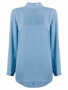 Filippa K Macy mock neck blouse - Blue