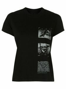 Rick Owens DRKSHDW abstract-print crew-neck T-shirt - Black