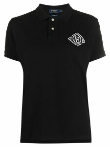 Polo Ralph Lauren embroidered logo polo shirt - Black