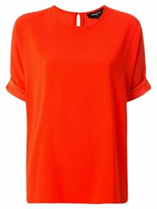 Paule Ka loose fit T-shirt - ORANGE