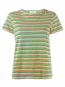 YMC striped basic T-shirt - Yellow