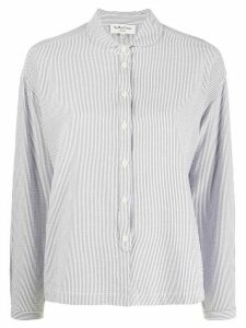 YMC striped long-sleeve shirt - Blue