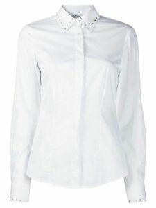 LIU JO studded details shirt - White
