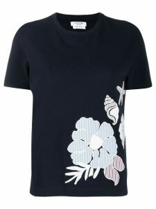Thom Browne Sea Floor Icon T-Shirt - Blue