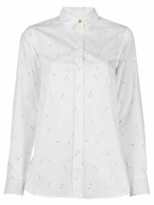 Paul Smith safety pin print shirt - White
