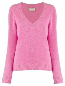 Zadig & Voltaire Sourca fine knit jumper - PINK