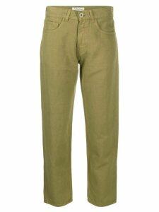 YMC straight leg trousers - Green