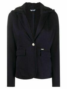 LIU JO lace hooded jacket - Blue