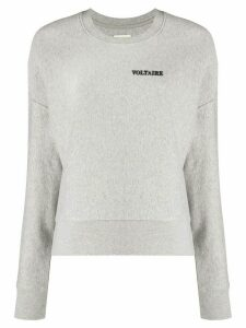 Zadig & Voltaire Champ Voltaire sweater - Grey