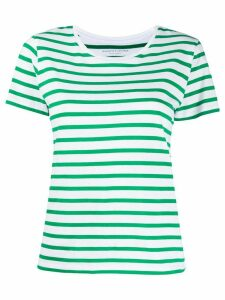 Majestic Filatures striped cotton T-shirt - Green