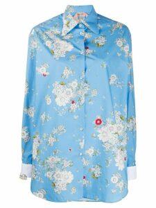 Nº21 floral print shirt - Blue