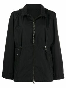 Moncler flared zip-up jacket - Black