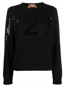 Nº21 logo detail sweatshirt - Black