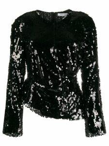 Act N°1 sequin embellished blouse - Black