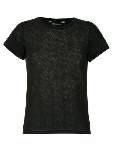Uma Raquel Davidowicz Cabo ribbed T-shirt - Black