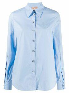 Nº21 star buttons shirt - Blue