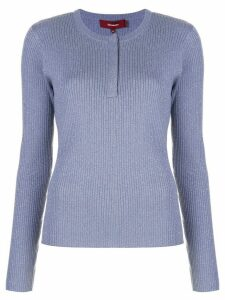 Sies Marjan Kate lurex jumper - Blue