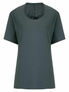 Uma Raquel Davidowicz Chester organic cotton blouse - Grey