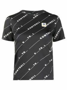 Kappa Kontroll logo T-shirt - Black