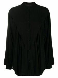 Federica Tosi flared style shirt - Black