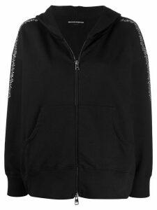 Ermanno Scervino embellished hoodie - Black