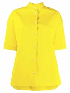 Aspesi flared short-sleeved shirt - Yellow