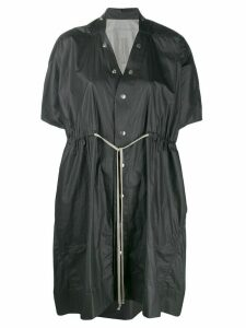 Rick Owens short-sleeved raincoat - Black
