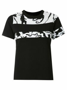 Gloria Coelho printed blouse - Black