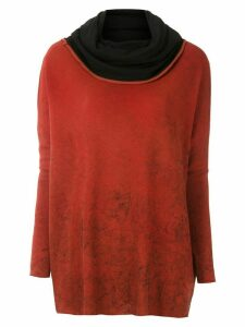 Uma Raquel Davidowicz Akita tinted sweater - Red