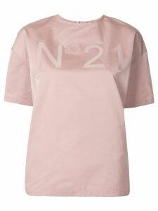Nº21 logo boxy blouse - PINK