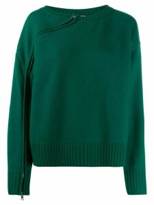Nº21 raised seam jumper - Green