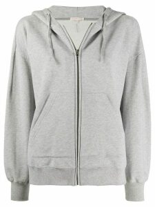 Filippa K Soft Sport loose-fit zip-up hoodie - Grey