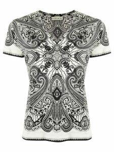 Etro paisley-print T-shirt - Black