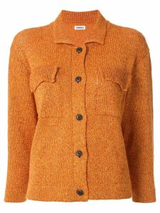 Coohem knitted long sleeve shirt - ORANGE