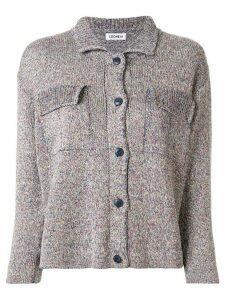Coohem knitted long sleeve shirt - PURPLE
